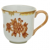 Herend Fortuna Rust Mug - 10 oz.