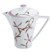 Exotica Pink  Round Coffee Pot