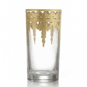 Vetro Gold Highball Glass
