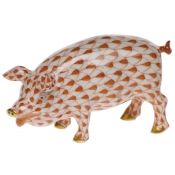 Herend Pig - Rust