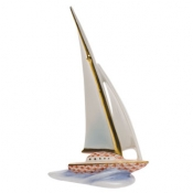 Herend Sailboat - Rust