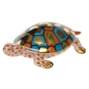 Herend Baby Turtle Rust