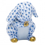 Herend Praying Bunny - Blue