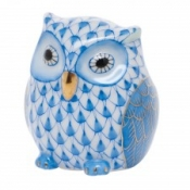 Herend Owlet Blue