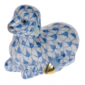 Herend Miniature Lamb - Blue