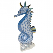 Herend Sea Horse - Blue