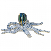 Herend Octopus - Blue