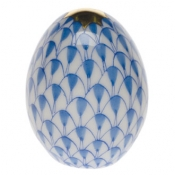 Herend Miniature Egg - Blue
