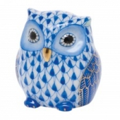 Herend Owlet Sapphire