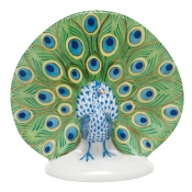 Herend Peacock Multicolor