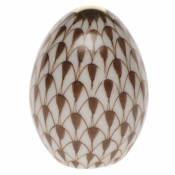 Herend Miniature Egg - Chocolate