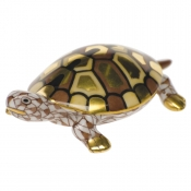 Herend Baby Turtle Chocolate