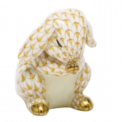 Herend Praying Bunny - Butterscotch