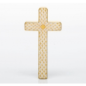 Herend Cross Butterscotch