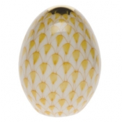 Herend Miniature Egg - Butterscotch