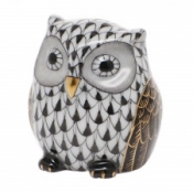 Herend Owlet Black