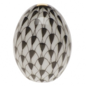 Herend Miniature Egg - Black