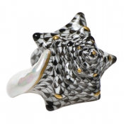 Small Conch Shell Black