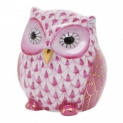 Herend Owlet Raspberry