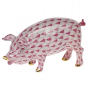 Herend Pig - Raspberry