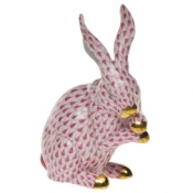 Medium Bunny w/Paws Up Raspberry