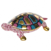 Herend Baby Turtle Raspberry