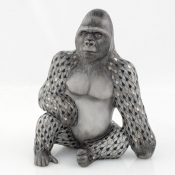 Herend Reserve Collection Silverback Gorilla