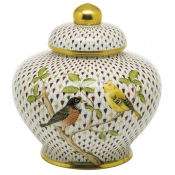 Herend Reserve Collection Songbird Ginger Jar