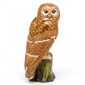 Herend Brown Barred Owl