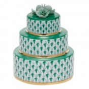 Herend Wedding Cake Green