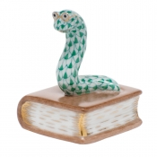 Herend Bookworm Green