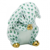 Herend Praying Bunny - Green