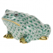 Herend Frog - Green