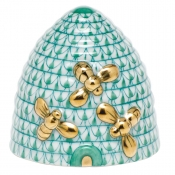 Herend Beehive - Green