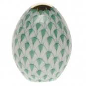 Herend Miniature Egg - Green