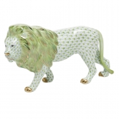 Herend Standing Lion - Key Lime