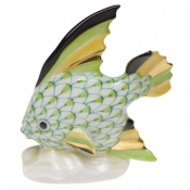 Herend Fish Table Ornament - Key Lime