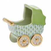 Herend Baby Carriage Key Lime