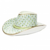 Herend Cowboy Hat Key Lime