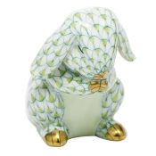 Herend Praying Bunny - Key Lime
