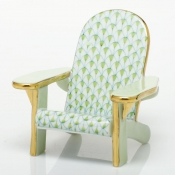 Herend Adirondack Chair Key Lime