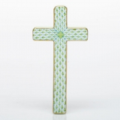 Herend Cross Key Lime