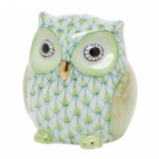 Herend Owlet Key Lime