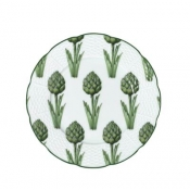 Villandry Vegetable Artichoke Dessert Plate