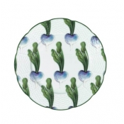 Villandry Vegetable Turnip Dessert Plate