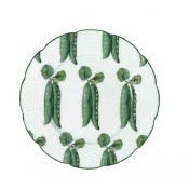 Villandry Vegetable Peas Dessert Plate