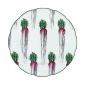Villandry Vegetable Radish Dessert Plate
