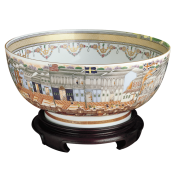 Mottahedeh Hong Bowl ( bowl only)