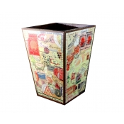 Annie Modica Stamps Waste Can