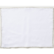 Vietri Whipstitch Ivory with Natural Placemat /Set 4